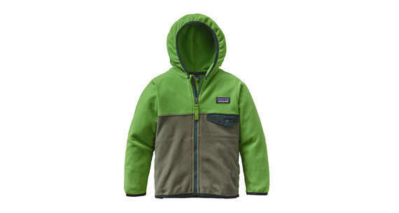 Patagonia Micro D Snap-T Jacket Babies Industrial Green